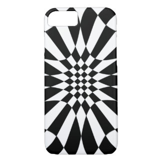 Checkmate-Black and White Pattern iPhone 8/7 Case