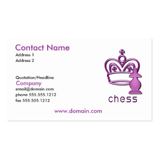 Checkmate Business Card