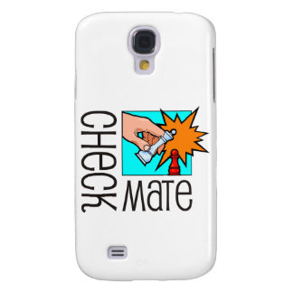Checkmate! Chess pieces (brainy board game) Galaxy S4 Cover