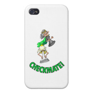 Checkmate! Chess pieces (brainy board game) Covers For iPhone 4