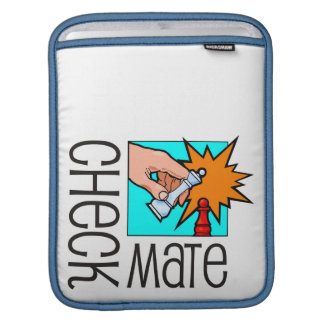 Checkmate! Chess pieces (brainy board game) iPad Sleeve