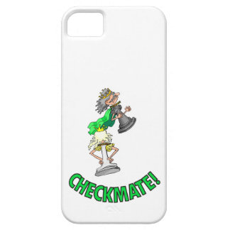 Checkmate! Chess pieces (brainy board game) iPhone SE/5/5s Case