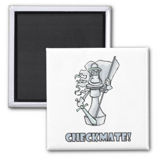 Checkmate! Chess pieces (brainy board game) Fridge Magnets