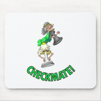 Checkmate! Chess pieces (brainy board game) Mouse Pad