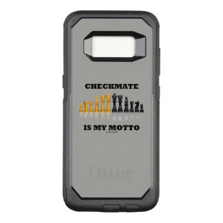Checkmate Is My Motto Reflective Chess Set OtterBox Commuter Samsung Galaxy S8 Case
