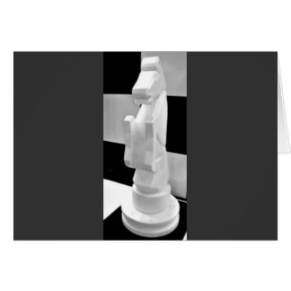 Checkmate, Knight Chess Piece Card