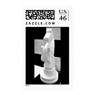 Checkmate, Knight Chess Piece Postage