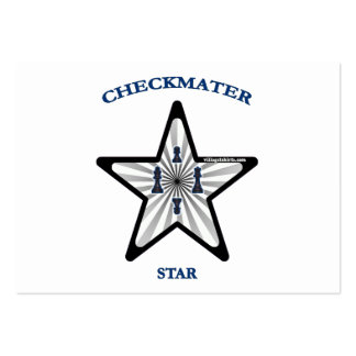 Checkmate Star Large Business Cards (Pack Of 100)