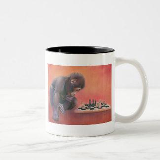 Checkmate Two-Tone Coffee Mug