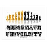 Checkmate University (Chess Set) Postcard