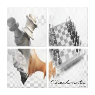 Checkmate Wrapped Canvas Gallery Wrap Canvas