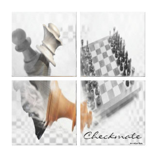 Checkmate Wrapped Canvas