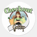 Checkout Gossip Logo Products Sticker