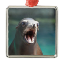 Checkout My Tonsils! Metal Ornament