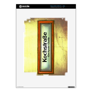 Checkpoint Charlie, Kochstrabe, Yellow and Orange Decals For iPad 2