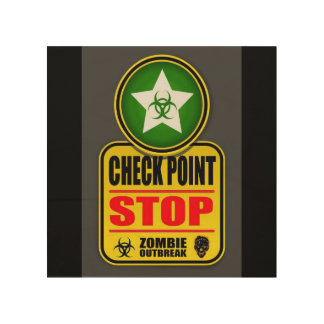 Checkpoint Stop Sign
