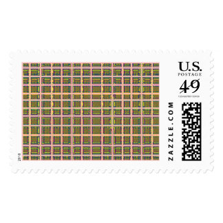 Checks Atypical Background Postage