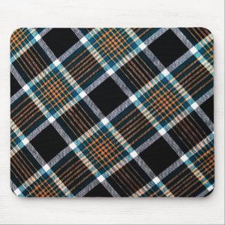 Checks Fabric Style Garment Classic Lavish Royal Mouse Pad