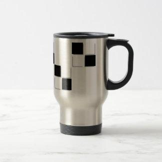 Checks steel mug