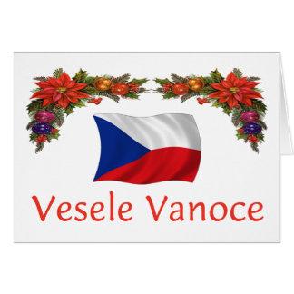 Checo Vesele Vanoce Felices Navidad Felicitación