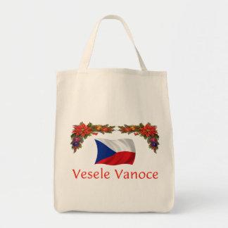 Checo Vesele Vanoch (Felices Navidad) Bolsa Tela Para La Compra