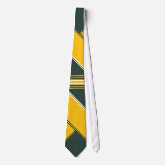 Cheddar and Avocado Striped Tie