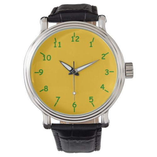 Cheddar and Lime Wrist Watch