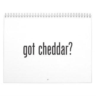 Cheddar conseguido calendario