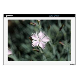"Cheddar pink (Dianthus gratianopolitanus) 17"" Laptop Skin"