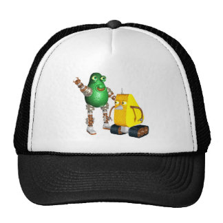 CheddarCheeseBot AvocadoBot Hats