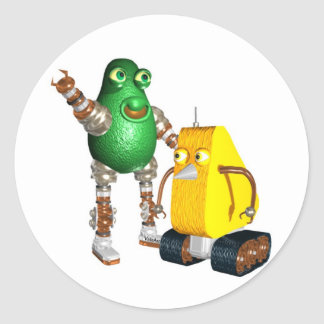 CheddarCheeseBot AvocadoBot Stickers
