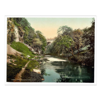 Chee Dale, Miller's Dale, Derbyshire, England rare Post Card