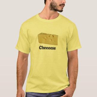 Cheeeese - Basic White T-Shirt