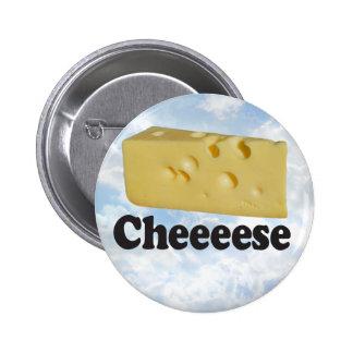 Cheeeese - Round Button