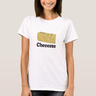 Cheeeese - Woman's Basic White T-Shirt