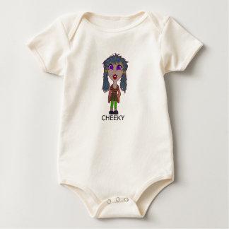 CHEEKY BABY BODYSUIT