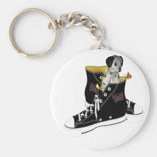 Cheeky Chappie Basic Round Button Keychain
