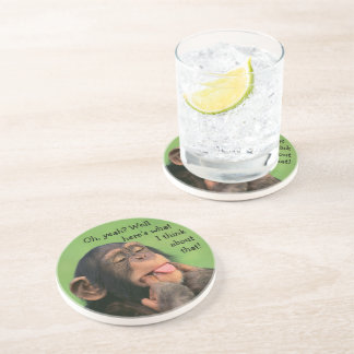 Cheeky Chimp Drink Coaster