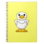 Cheeky Duck Spiral Notebook