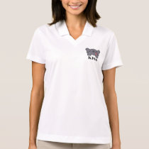 Cheeky Elephant Bottom With Idiomatic Kiss Polo Shirt