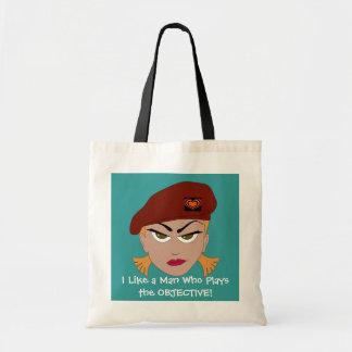 Cheeky Girl Gamer Tote Bag