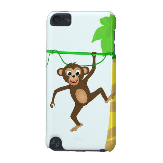 Cheeky Little Monkey Cute Cartoon Animal iPod Touch 5G Covers