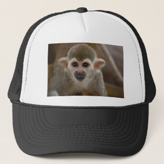 Cheeky Little Monkey Trucker Hat