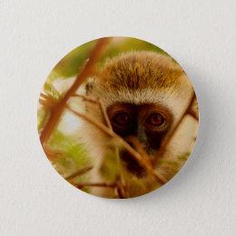 Cheeky Monkey. Button