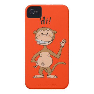 Cheeky monkey Case-Mate iPhone 4 case