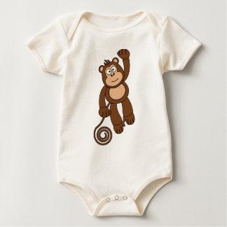 Cheeky Monkey Design Baby Bodysuit