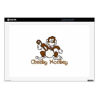 Cheeky Monkey Laptop Skin