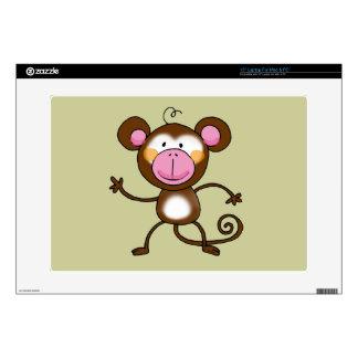 Cheeky monkey laptop skins
