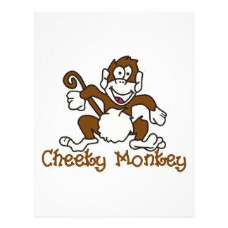 Cheeky Monkey Letterhead