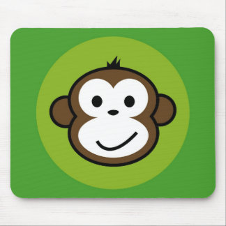 Cheeky Monkey Mouse Mat